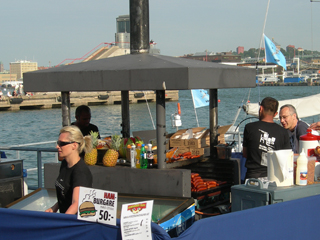 Volvo Ocean Race Grill